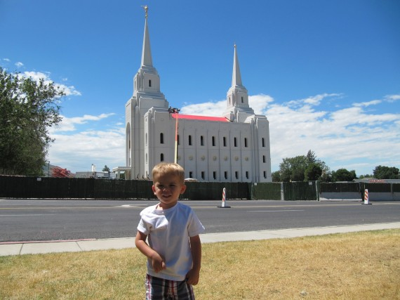 Brigham City Utah Temple Bryson