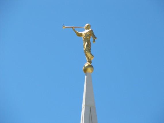 Brigham City Utah Temple Moroni