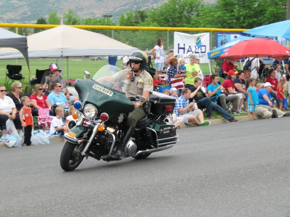 Kaysville July 4th Parade Davis County Sheriff