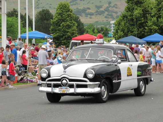 Kaysville July 4th Parade Utah Highway Patrol