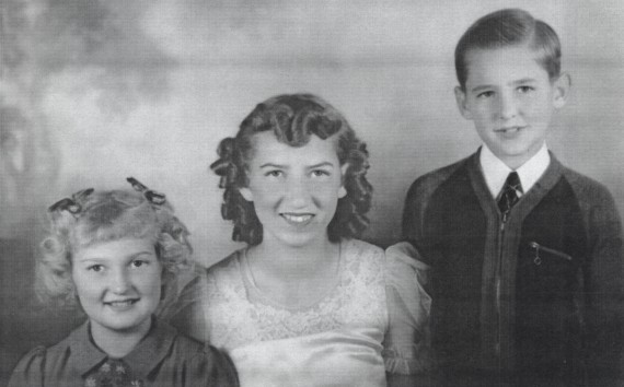 Edith's children: Glenna, Dolores, and Robert
