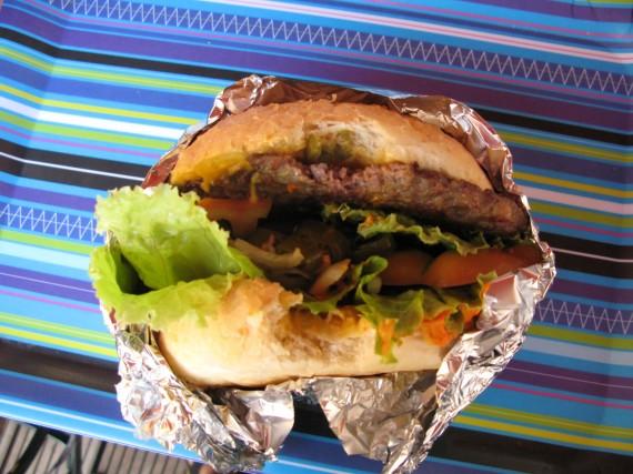 Slovenian Horse Meat Burger
