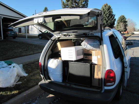 When it comes to moving, minivans can hold their own
