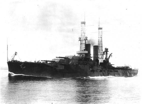 Battleship Utah