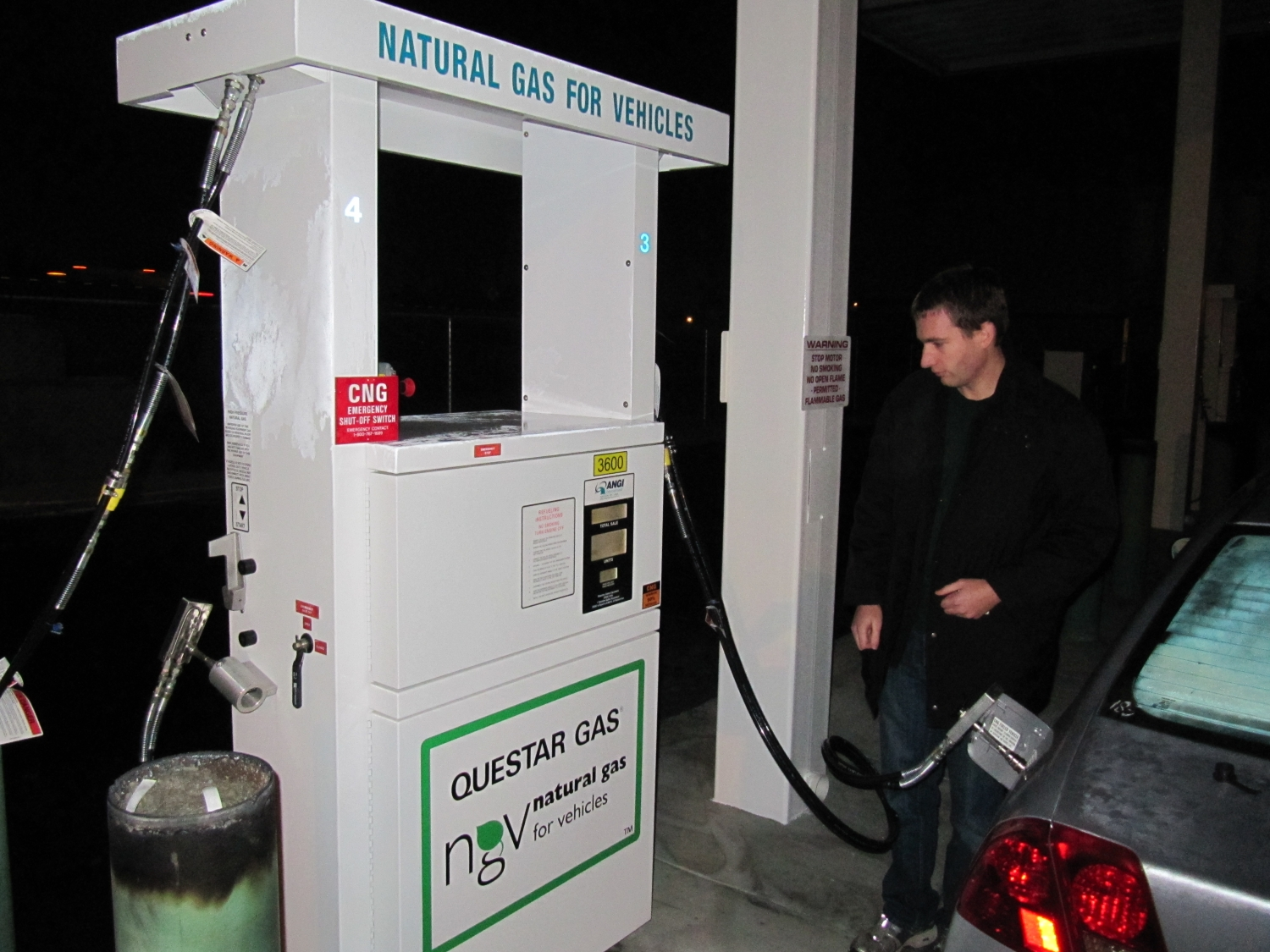 CNG Station in Kaysville
