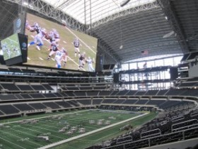 Cowboys Stadium big screen