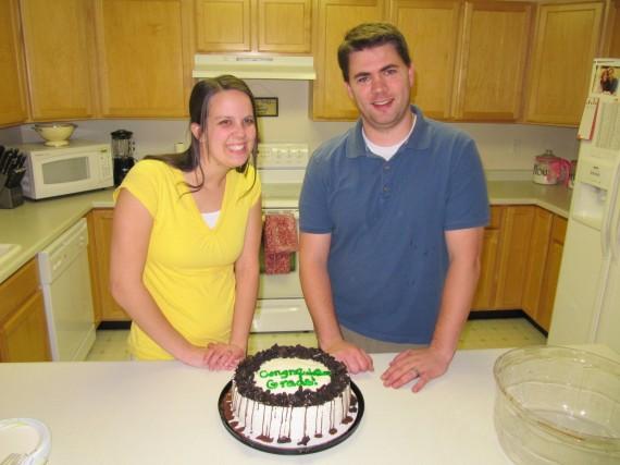 Graduates Rachel and Derek