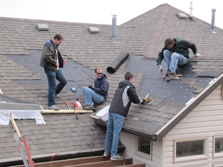 Layton windstorm repairs