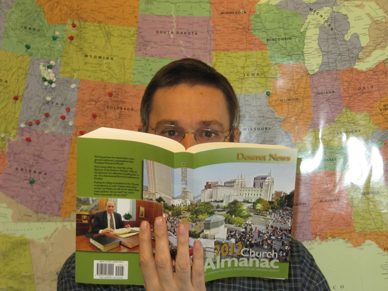 Perusing the 2012 Deseret News Church Almanac