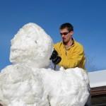 Building a Giant Snowman