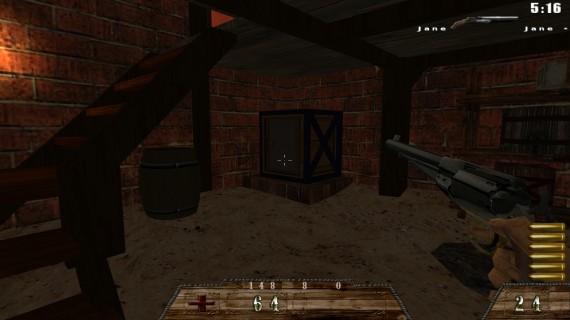 DawnFort Red Brick House Safe