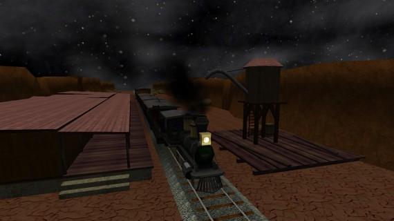 Santa Fe Express Train
