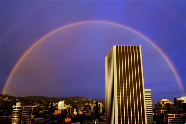 Rainbow that appeared the day of my baptism