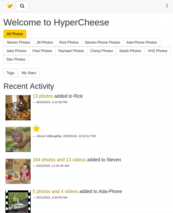 Cheese main page